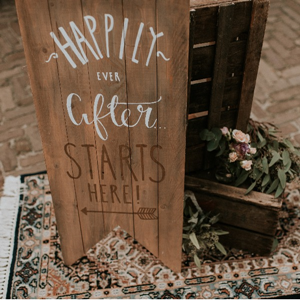 Bord- Happily ever after starts here