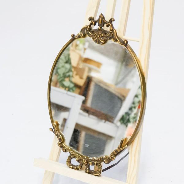 Gouden Spiegel Ovaal.Spiegel Goud Ovaal Huren Brisked Styled Weddings